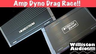 Budget 8000W Amp Dyno Drag Race! Orion vs Soundstream