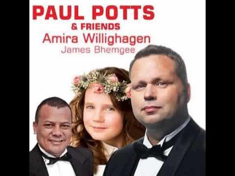 Interview Paul Potts, Amira and James Bhemgee @ GrootFM, Pretoria (12-8-2014)