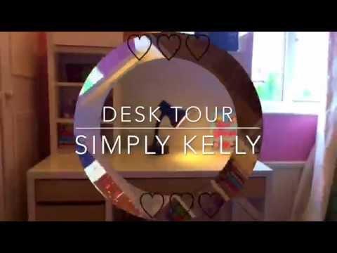 Desk Tour ♡ Simply Kelly