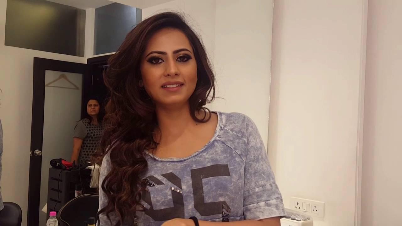 Sargun Mehta At Toniguy Chandigarh Youtube