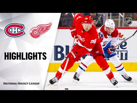 NHL Highlights | Canadiens @ Red Wings 2/18/20