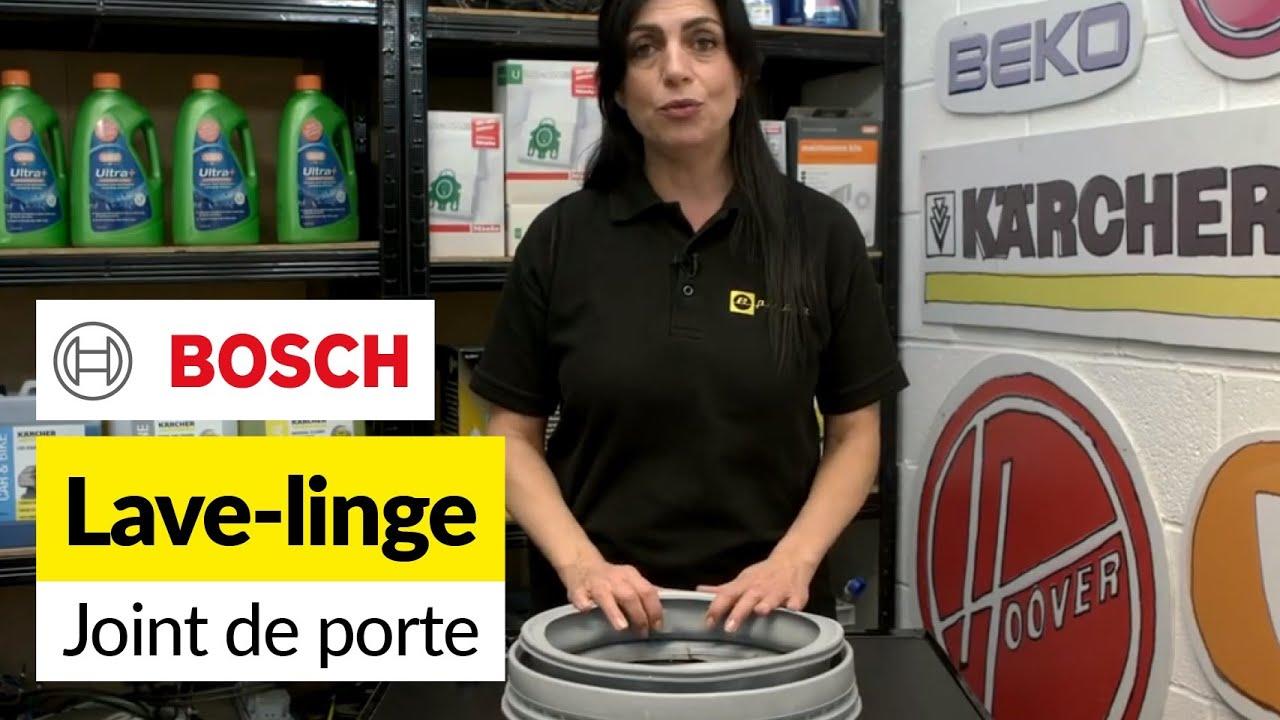comment changer le joint de porte d 39 un lave linge bosch youtube