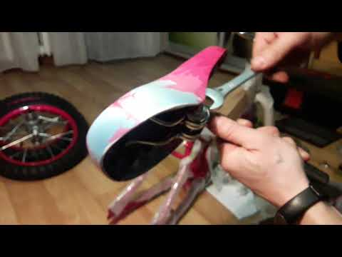 Как собрать детский велосипед дома. Часть 1