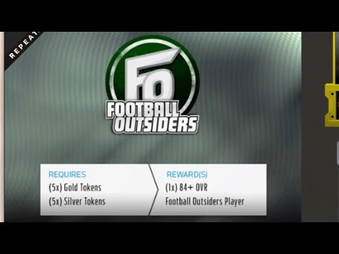 FOOTBALL OUTSIDERS UPGRADE PACK MADDEN 18 ULTIMATE TEAM!!!!!