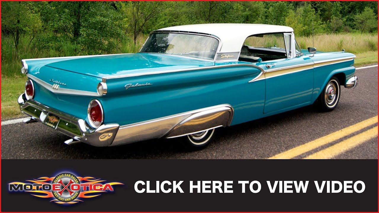 1959 Ford Fairlane 500 Skyliner Retractable Hardtop Sold