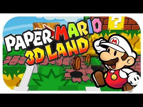 Let's Show Paper Mario 3D Land (Hack/Fangame) + Download