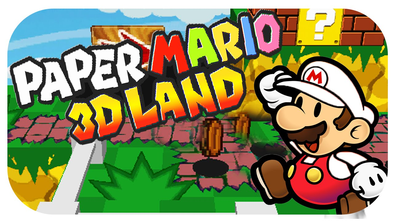 Let S Show Paper Mario 3d Land Hack Fangame Download Youtube