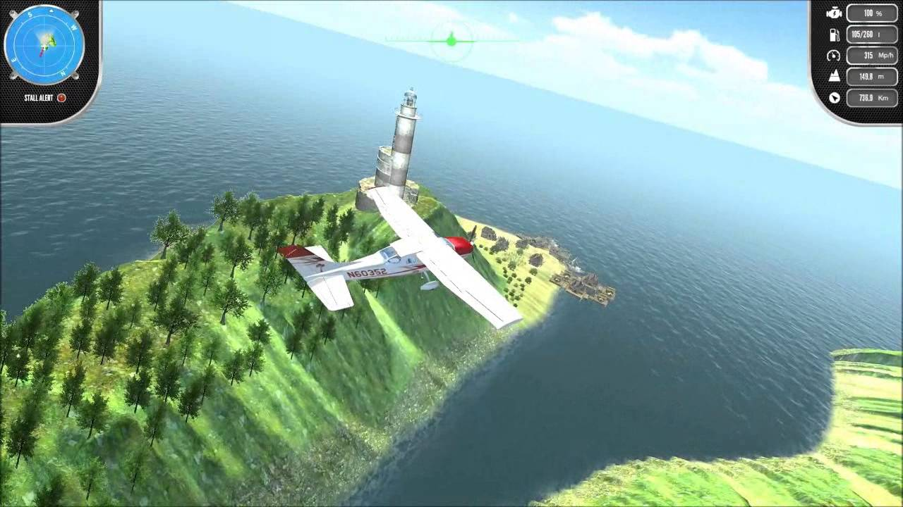 Island Flight Simulator - Official Game Trailer - YouTube