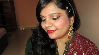 ** Indian Festive Makeup Look! ** Thumbnail