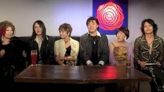 今週の「青い部屋・月曜シャンソンコンサート」は左からマダム戸川昌子 ...