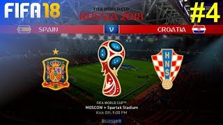 FIFA 18 - Let's Make Spain World Champion #4: vs. Croatia