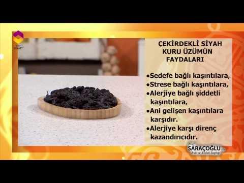 Tıbbi Bitkiler - (Çekirdekli Siyah Kuru Üzüm) - DİYANET TV