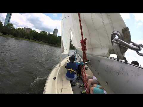 Family Sailing on a Sonar