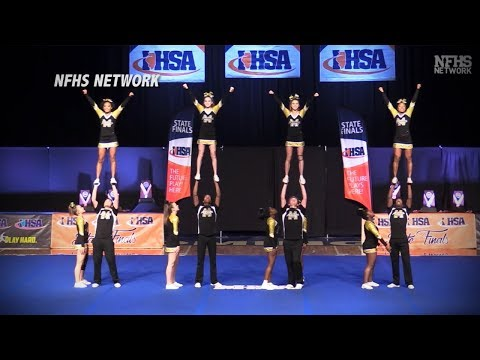 NSW Feature  Metea Cheerleading: Setting the Black and Gold Standard