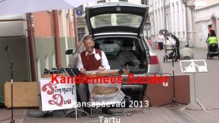 Tartu Hansapäevad 2013 Kandlemees Sander Jaaniplatsil