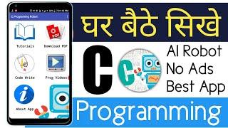 Best Programming learning App,C Programming Robot,No Ads,AI Robot feature,Hi-Tech App