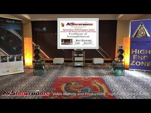 High End Zone, Perfect 8 speakers, Ypsilon electronics, Aurender A10, W20, Wireworld, ASC TubeTraps,