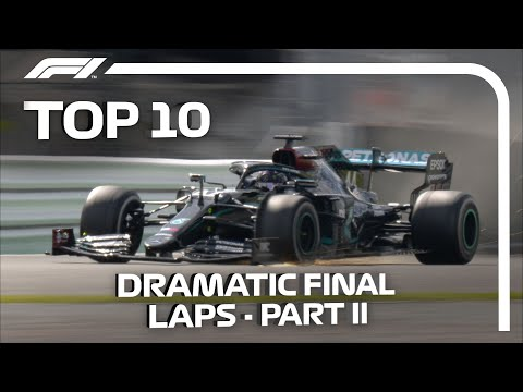 Top 10 Dramatic Final Laps In F1  Part 2