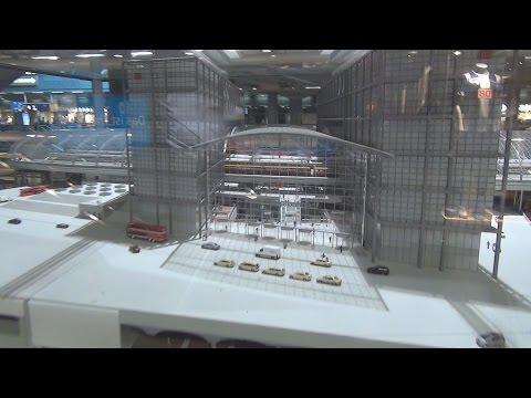 Berlin Central Station / Berlin Hauptbahnhof - 3D Model!