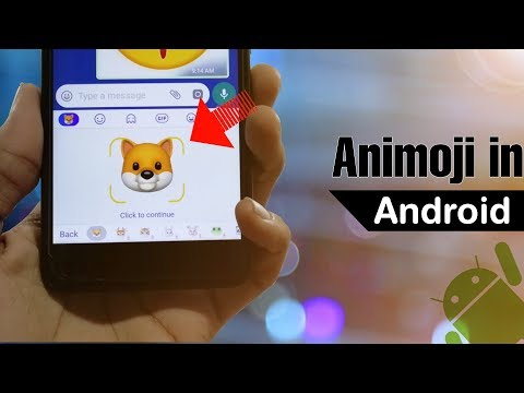 How To Get Animoji In Any Android Device    Animoji In Android   
