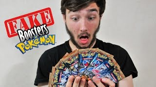 Ouverture de 10 FAUX Boosters Pokémon ! CARTES POKEMON ULTRA-RARES HORRIBLES !