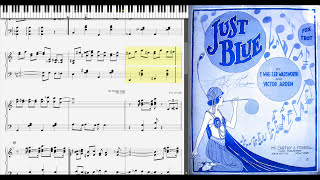 Just Blue by Victor Arden & Wheeler Wadsworth (1918, Blues piano)
