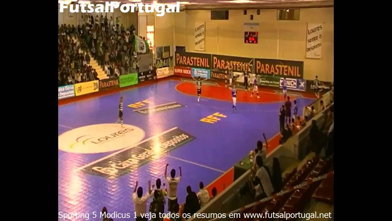 Futsal :: 06J :: Sporting - 5 x Modicus - 1 de 2010/2011