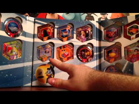 Disney Infinity: Series 1 Power Discs + Toys R Us Exclusive Tron