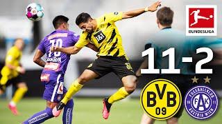 Borussia Dortmund - Austria Wien 11-2 I Highlights I Sancho & Bellingham shine