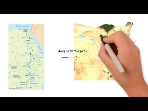 Ancient Egypt Geography – Egypt's Deserts