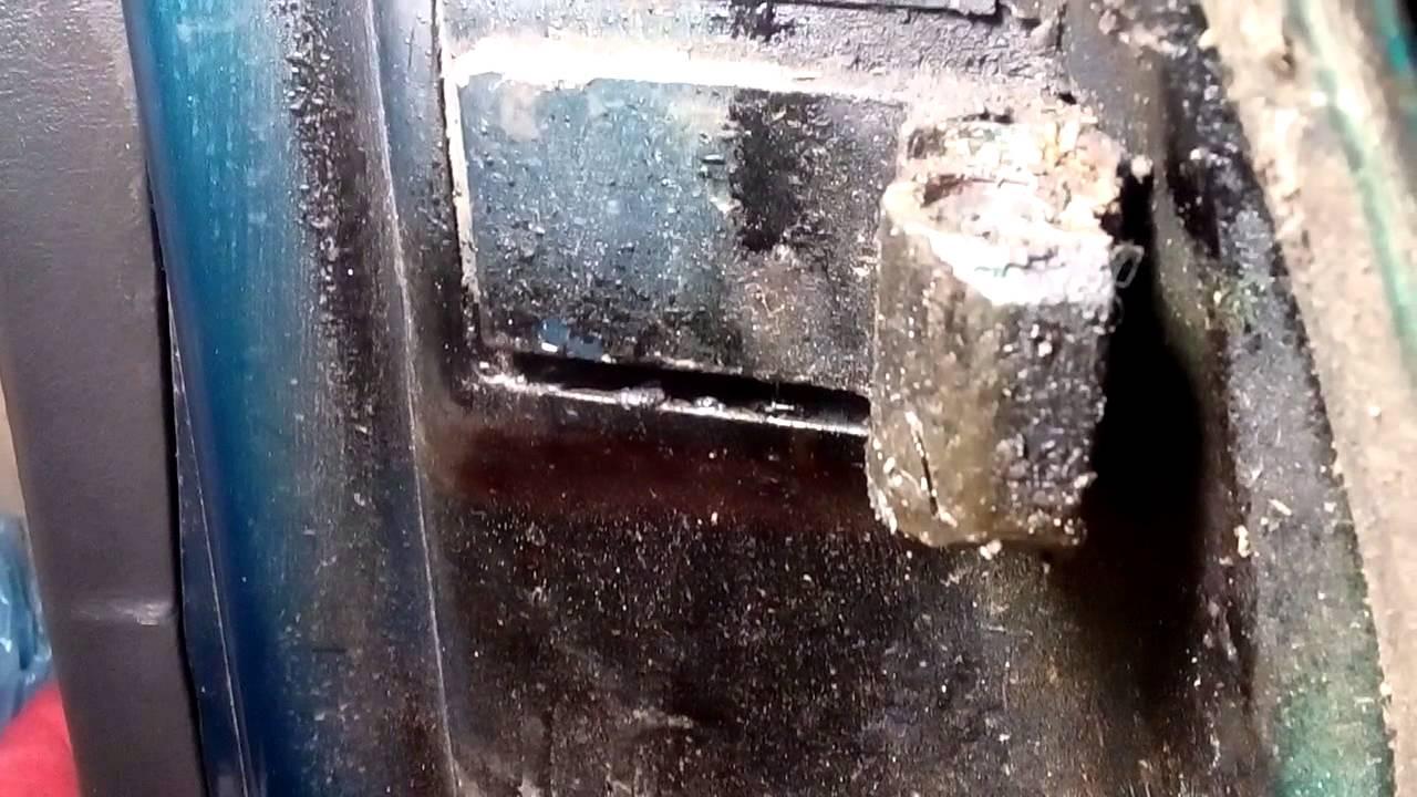 opel vectra b ремонт дверных петель