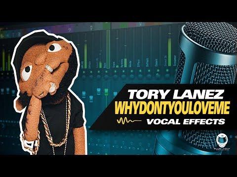 [FLP] TORY LANEZ - WHY DONT YOU LOVE ME (VOCAL PRESET) | FL STUDIO