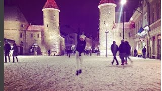 Таллин, день 2. Шампанское, танцы, дичь, Диана Шурыгина. Путешествия с Марьяной.