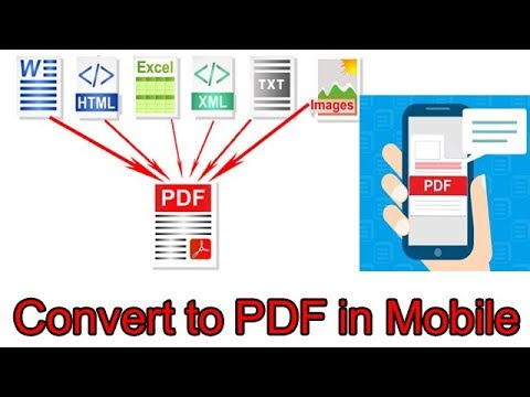 How To Convert A Document Into Pdf In Your Phone?