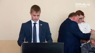 Боевой ничьей завершились выборы председателя Биробиджанской гордумы