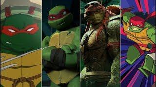 Эволюция Рафаэля в мультфильмах и кино