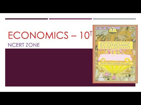 L1 | ECONOMICS | NCERT | 10th | INTRODUCTORY || NCERT ZONE