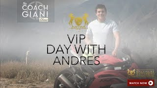 VIP Day with Andres Diaz