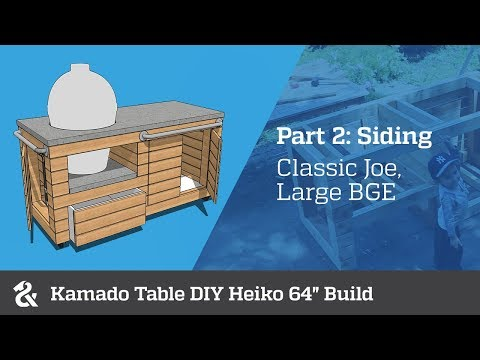 Kamado Table Diy Heiko 64 Part 1