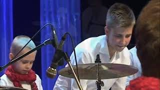 Smoke - Electro Deluxe - Drum show - Daniel and Ilya Varfolomeyev  - Orchestra  Little Band