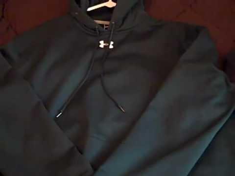 4b83555f8 Under Armour Coldgear Fleece Hoody Review - YouTube