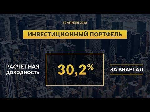 Инвестиционный портфель акций. Апрель, 2018 | Global Finance