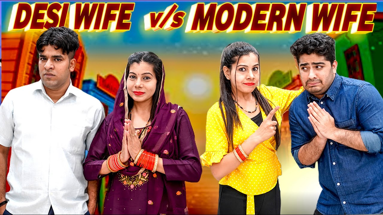 Desi Wife vs Modern Wife | Sanjhalika Vlog