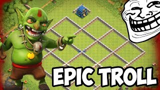 BRAND NEW MAXED GIGA TESLA TROLL BASE! UNDEFEATED IN Clash Of Clans?!