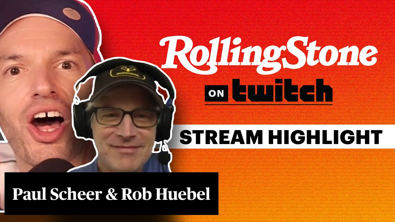 Paul Scheer & Rob Huebel Take The Screenshot Interview | RS on Twitch