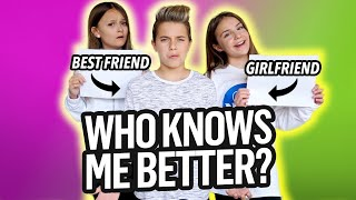 WHO KNOWS ME BETTER?! My GIRLFRIEND or My BEST FRIEND?! *MUST WATCH *| Gavin Magnus