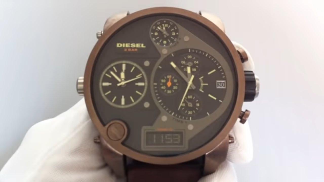 Men U0026 39 S Diesel Sba Badass Oversized Chronograph Watch Dz7246