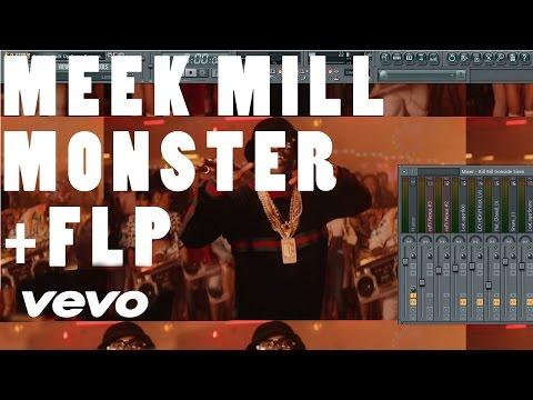 Meek Mill - Monster FL Studio Remake Tutorial + FLP