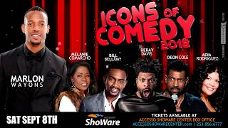 Icons of Comedy Show Spot Created for Client