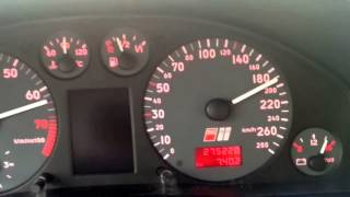 audi s4 b5 2 7t top speed v max